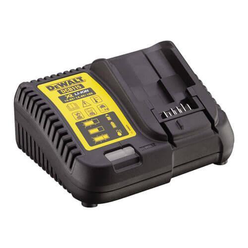 Зарядное устройство DeWALT, батарея серии XR: 10,8В, 14,4 В, 18,0 В, исходящий ток 4 A, вес 0,5 кг, шт