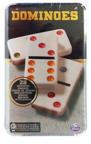 Настольная игра Домино Железная Коробка Spin Master разноцветное SM98405/6033156, фото 2