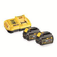 Зарядное устройство DeWALT, XR FLEXVOLT, 8А,2 аккумул. DCB546 Li-lon.,18/54 В,0,65 кг в картон.короб, шт
