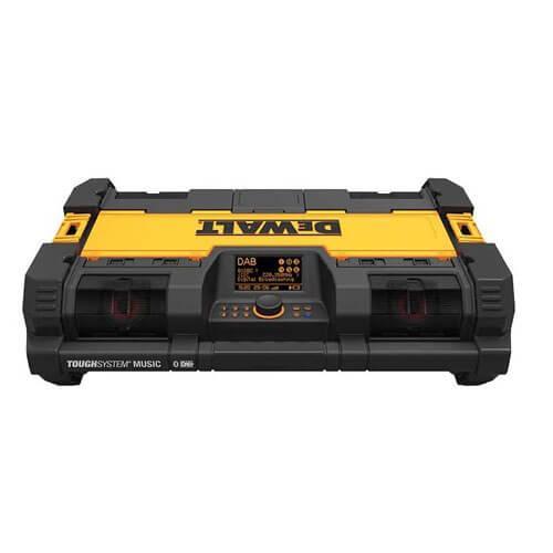 Зарядное устройство-радиоприемник AM/FM DeWALT TOUGHSYSTEM,колонки 40 Вт,2 саббуфера,вход Aux.3,5 мм, шт