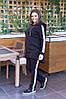 Утепленный женский спортивный костюм / трехнитка на байке / Украина 10-1309