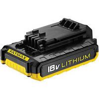 Аккумуляторная батарея STANLEY Li-Ion, 18 B/1,5 Ач, шт