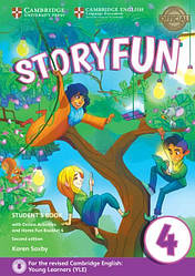 Storyfun for Movers 2nd Edition 4 Student's Book with Online Activities and Home Fun Booklet