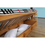 Ліжко дитяче з натурального дерева з підйомним механізмом Немо Дрімка, фото 3