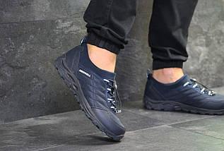 Мужские кроссовки темно синие разных размеров Merrell, фото 3