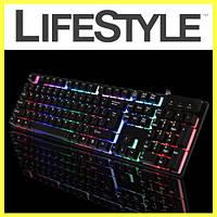 Игровая клавиатура с подсветкой Land Slides KR 6300, фото 1