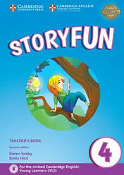 Storyfun for Movers 2nd Edition 4 Teacher's Book with Audio