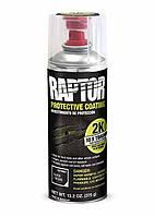 Защитное покрытие (краска) повышенной прочности U-POL Raptor в аэрозольном баллончике черный