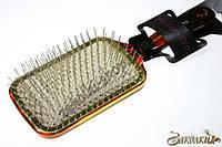 Массажная расческадля волос Master-Pro 650SHR с металлическими зубчиками
