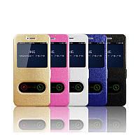 Кожаный чехол книжка Anakonda для Samsung Galaxy J4 Core (5 цветов)