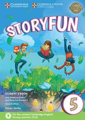 Storyfun for Flyers 2nd Edition 5 Student's Book with Online Activities and Home Fun Booklet