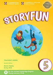 Storyfun for Flyers2nd Edition 5Teacher's Book with Audio