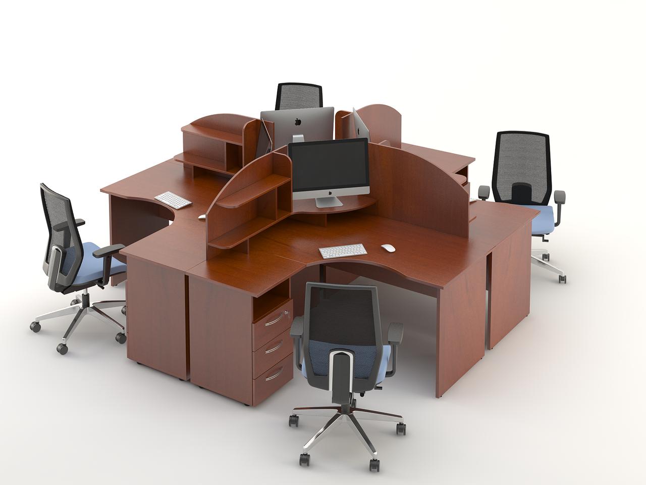 Комплект мебели для персонала серии Атрибут композиция №5 ТМ MConcept