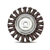 Щетка металлическая DeWALT, D=115 мм, дисковая., шт