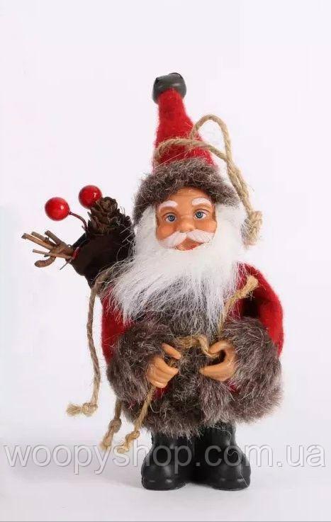 Дед Мороз, Санта. Декор, игрушка 16см