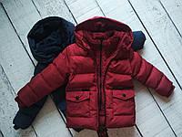 Куртка для хлопчика, зима 1-5 років, Угорщина, фото 1
