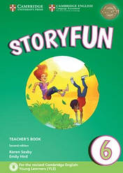 Storyfun for Flyers2nd Edition 6Teacher's Book with Audio