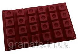 Силиконовая форма Кубики 33х21х2 см