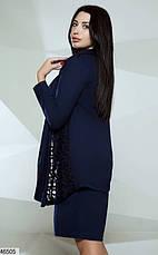 Нарядный костюм платье и кардиган размеры:48-50,52-54,56-58, фото 2
