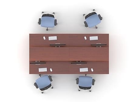 Комплект мебели для персонала серии Атрибут композиция №8 ТМ MConcept, фото 2