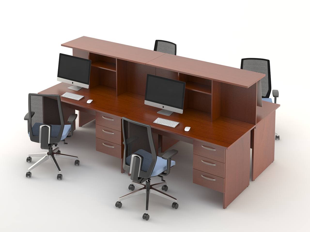 Комплект мебели для персонала серии Атрибут композиция №8 ТМ MConcept