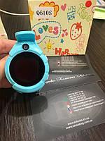 Детские умные часы Q 610S с LED фонариком голубой , фото 1