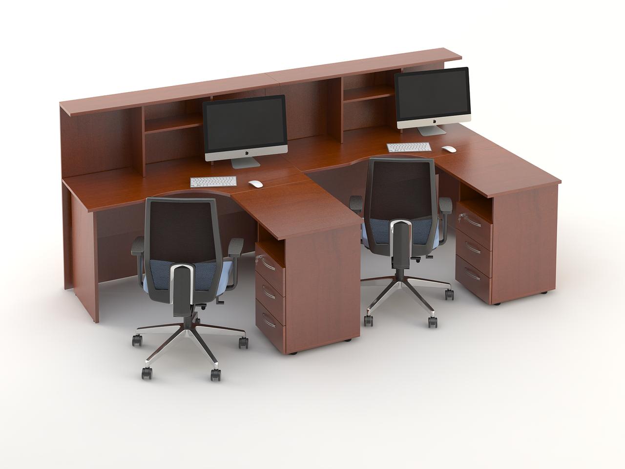 Комплект мебели для персонала серии Атрибут композиция №9 ТМ MConcept