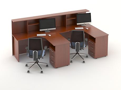 Комплект мебели для персонала серии Атрибут композиция №9 ТМ MConcept, фото 2