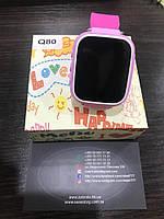 Детские умные часы с GPS-трекером Q80 Розовый, фото 1
