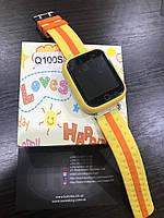 Детские умные часы Smart Watch GPS трекер Q100S Желтый, фото 1