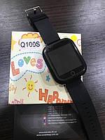 Детские умные часы Smart Watch GPS трекер Q100S Черный, фото 1