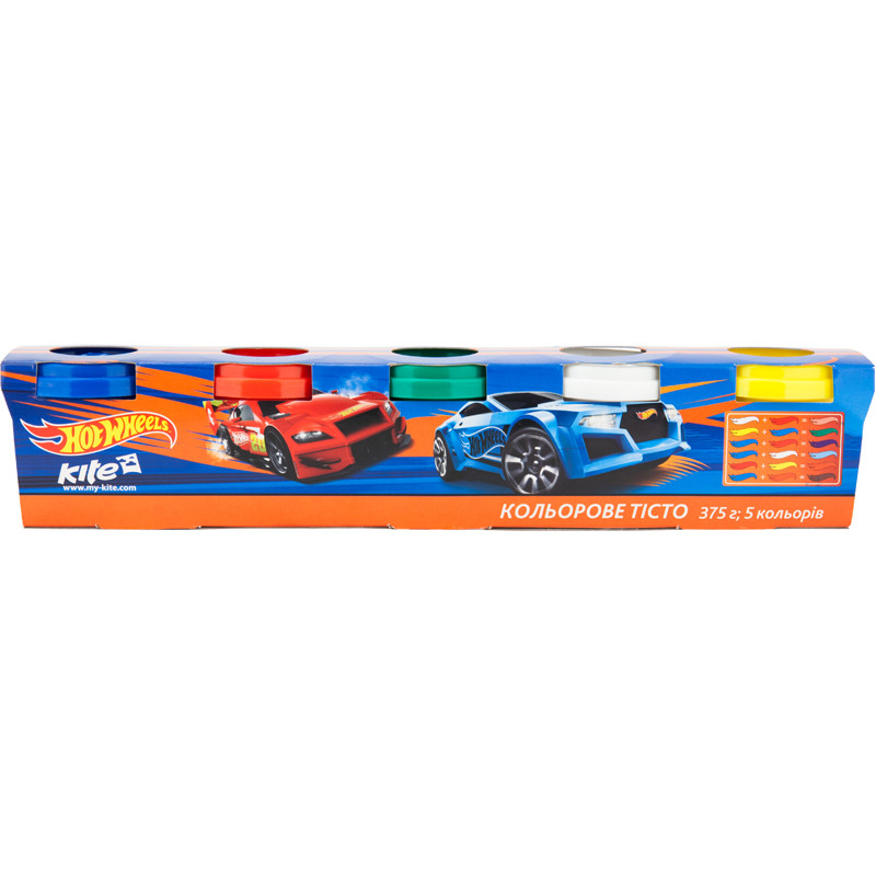 Тесто цветное Kite 152, 5 шт по 75 грамм, HW17-152