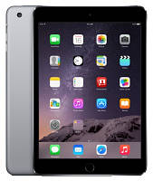 Планшет iPad Mini 3 Retina Wi-Fi+LTE Space Grey 128Gb