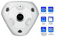 Wi-Fi / IP панорамная камера 3D XPX 360 градусов, фото 1