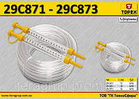 Гидроуровень шланг 25м,  TOPEX  29C873, фото 1
