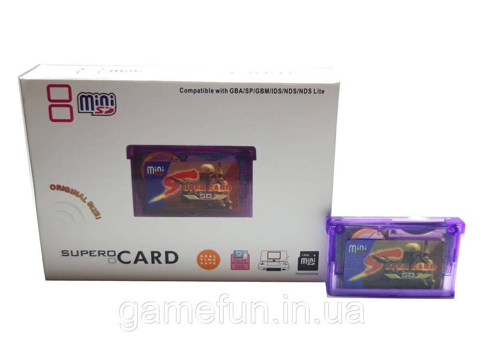 SuperCard MiniSD для GBA/GBASP/NDS