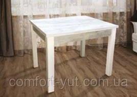 Стіл кухонний розкладний обідній Марсель 90(+35+35)*70 білий - Урбан Лайт