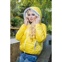 Женская стеганная куртка с капюшоном , фото 1