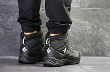 Высокие мужские кроссовки Columbia,черные 45р, фото 3