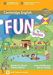 Fun for Starters Third Edition Student's Book with Downloadable Audio and Online Activities