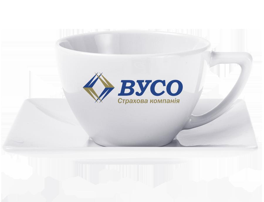 Чайная чашка с логотипом, 280 мл