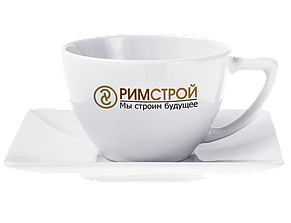 Чайная чашка с логотипом, 280 мл, фото 2