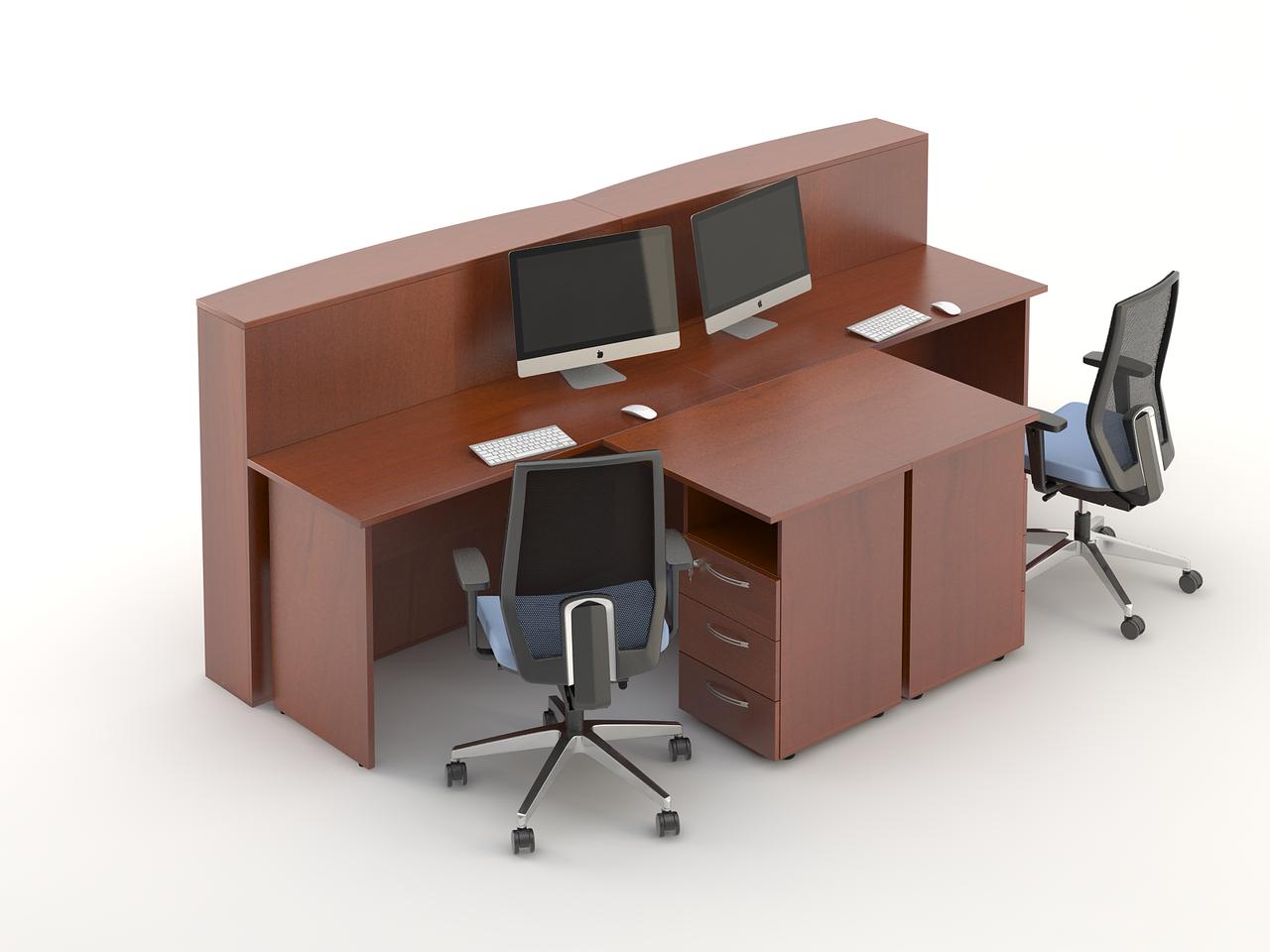 Комплект мебели для персонала серии Атрибут композиция №11 ТМ MConcept