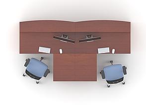 Комплект мебели для персонала серии Атрибут композиция №11 ТМ MConcept, фото 2