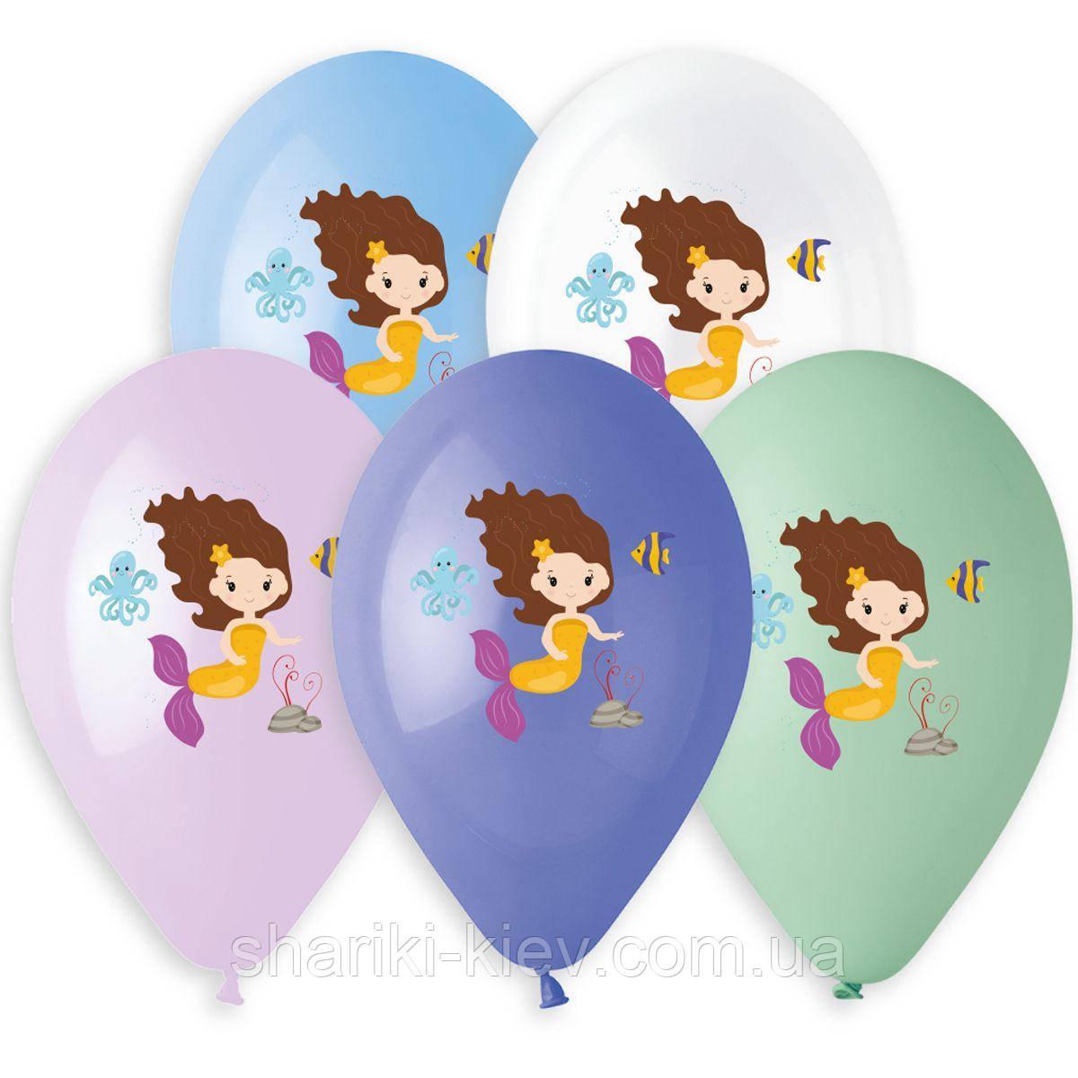 Гелиевый шар Русалка на День Рождения