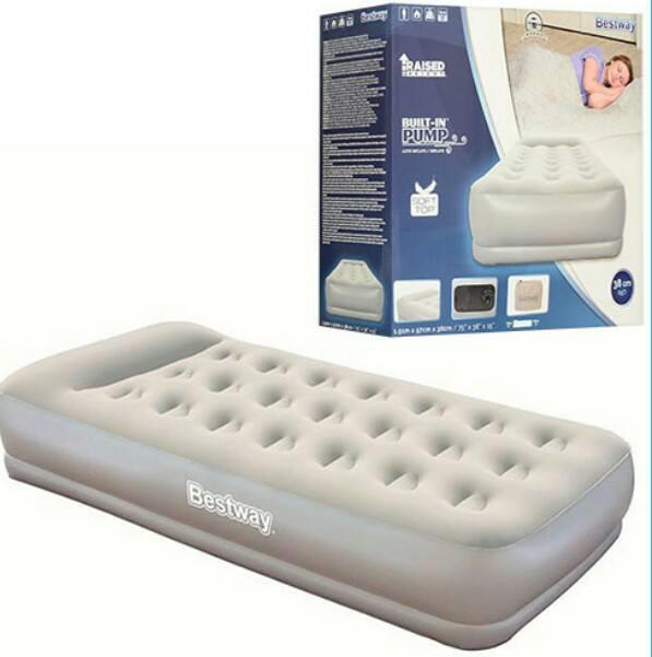 Кровать велюр 67455 BESTWAY