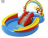 """Детский водный надувной игровой центр """"Радуга"""""""