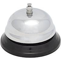 Звонок на ресепшн 8,5х6 см. хромированная сталь Stalgast