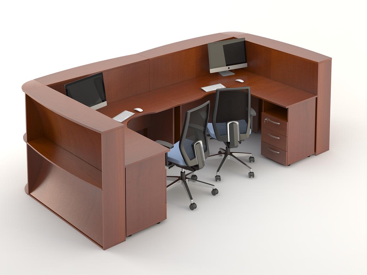 Комплект мебели для персонала серии Атрибут композиция №12 ТМ MConcept