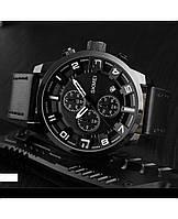 Классические мужские часы Skmei (Скмей)1309 Black